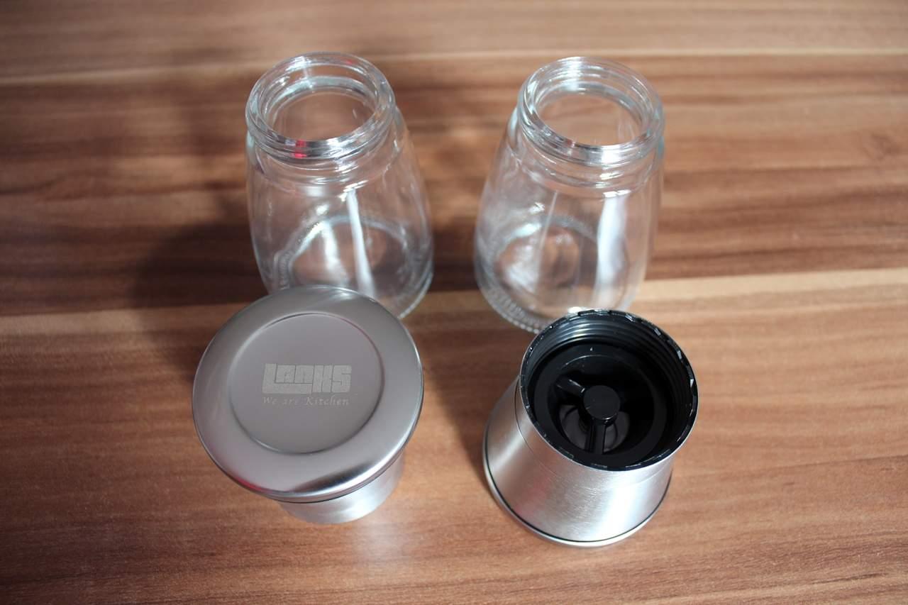Gewürzmühle Test: Laaks Salz- und Pfeffermühle