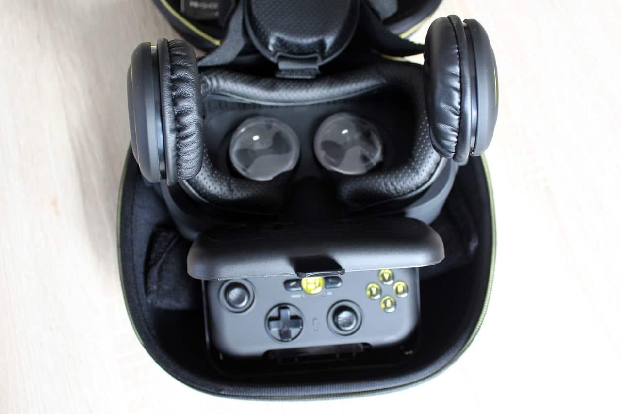 VR-Brille Lieferumfang