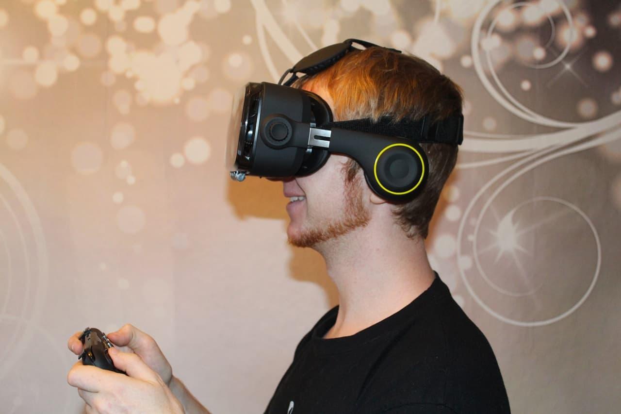 Smartphone VR-Brille Test