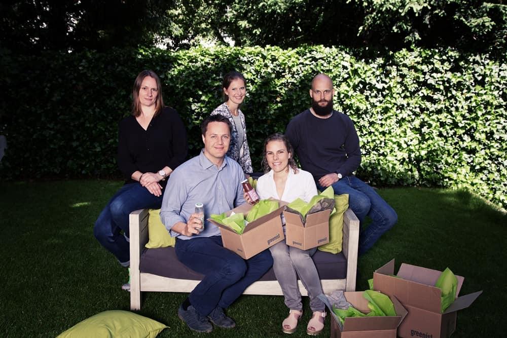 Das Team von Greenist