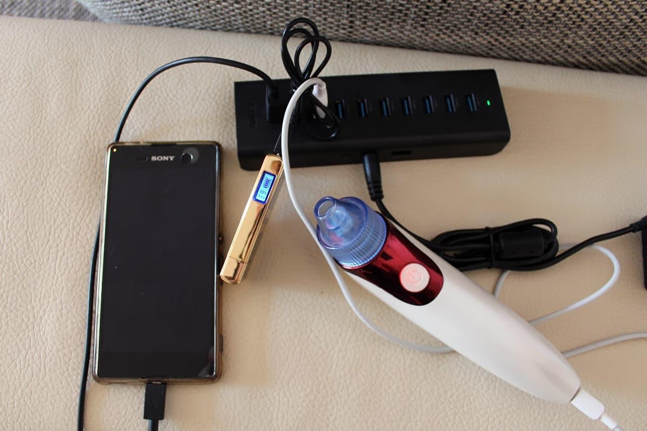 USB-Hub mit Netzteil