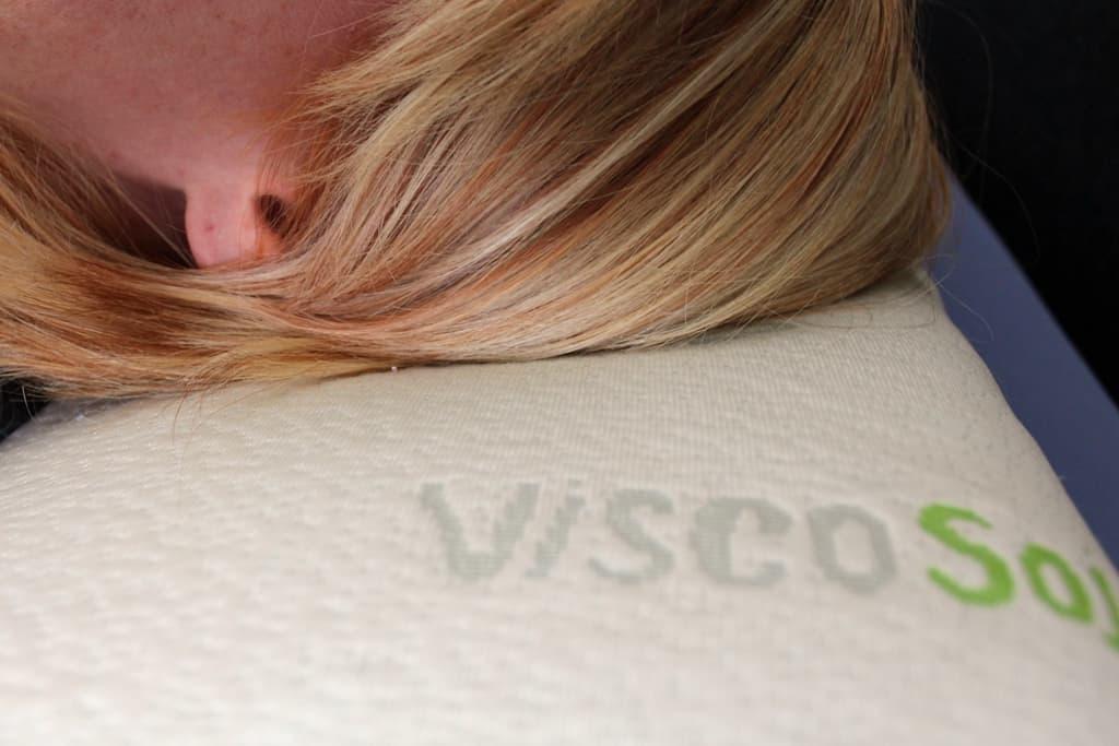 Nackenstützkissen mit Viscoschaum