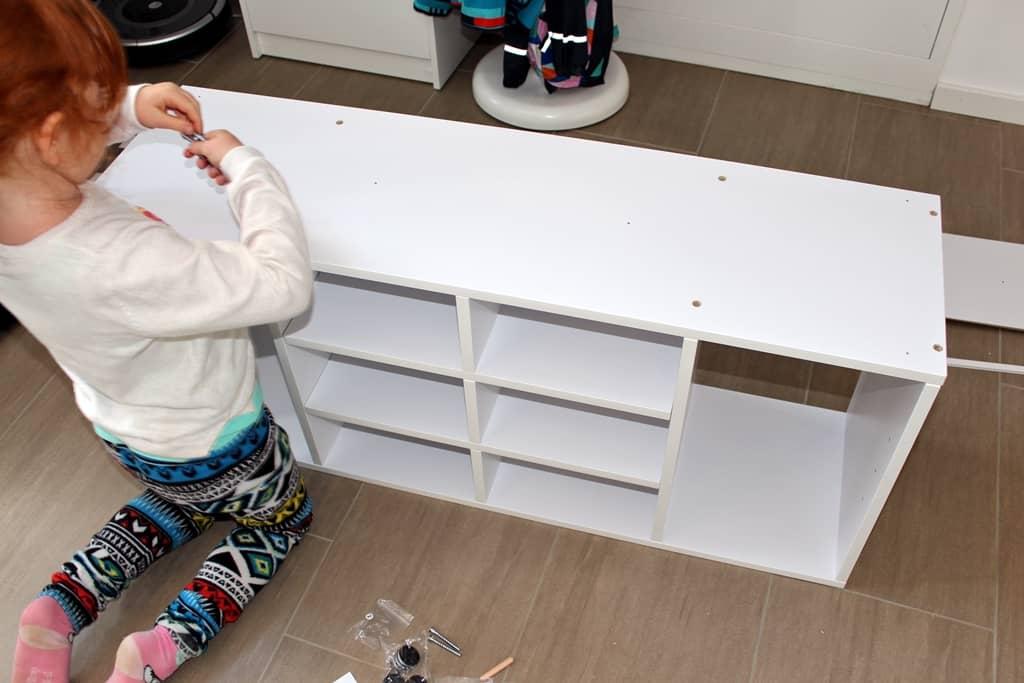 So kinderleicht - unsere Tochter konnte mit helfen